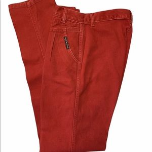 VTG Red Rocky Mountain Jeans Rockies High Waist